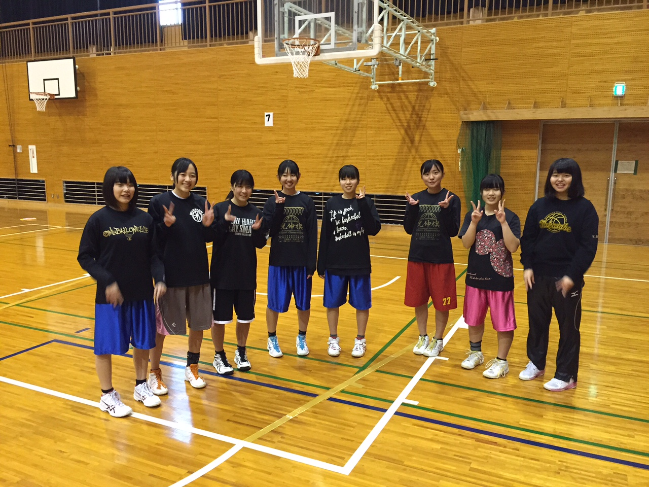 バスケットボール部 女子