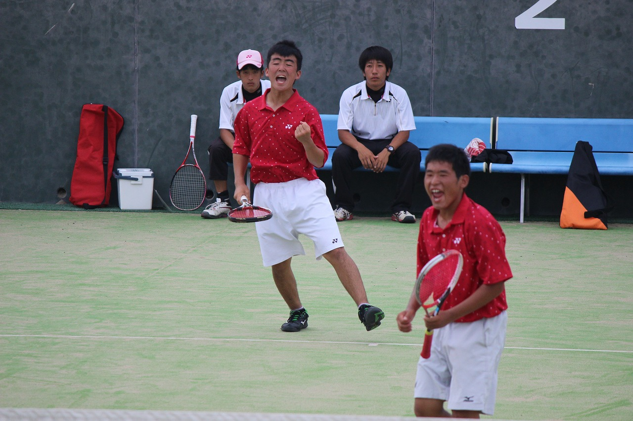 ソフトテニス部 男子